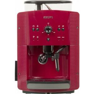 Кофемашина Krups EA810770, красный/черный