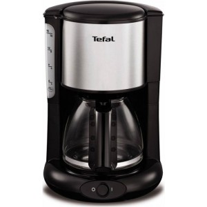 Кофеварка Tefal CM 361838, серебристый