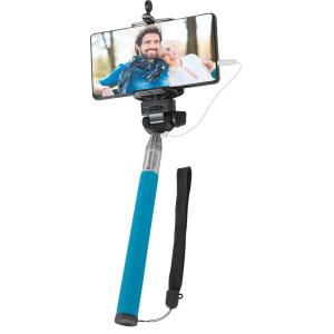 Штатив Defender Selfie Master SM-02 голубой проводной, 20-98 см