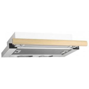 Встраиваемая вытяжка ELIKOR Интегра 60П-400-В2Л, белый/дуб неокрашенный
