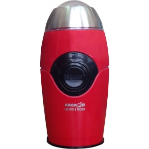 Кофемолка Аксион КМ-22, красный
