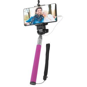 Штатив Defender Selfie Master SM-02 розовый проводной, 20-98 см